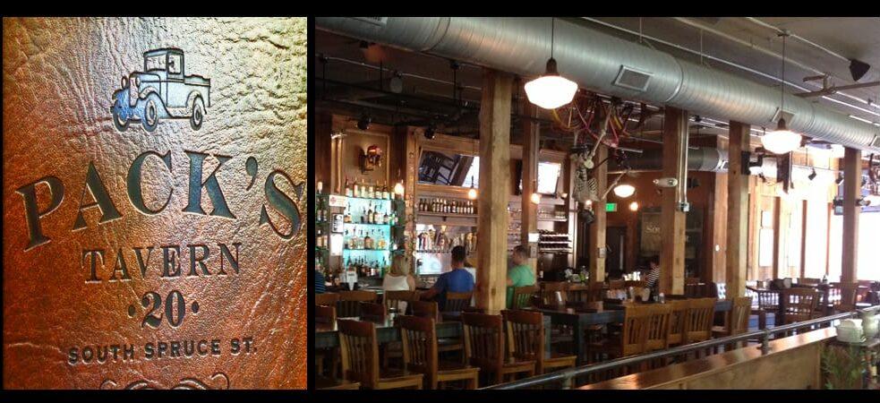 Angus Beef Burgers at Pack's Tavern, Downtown Asheville, Zen Asheville Inn & Spa Retreat